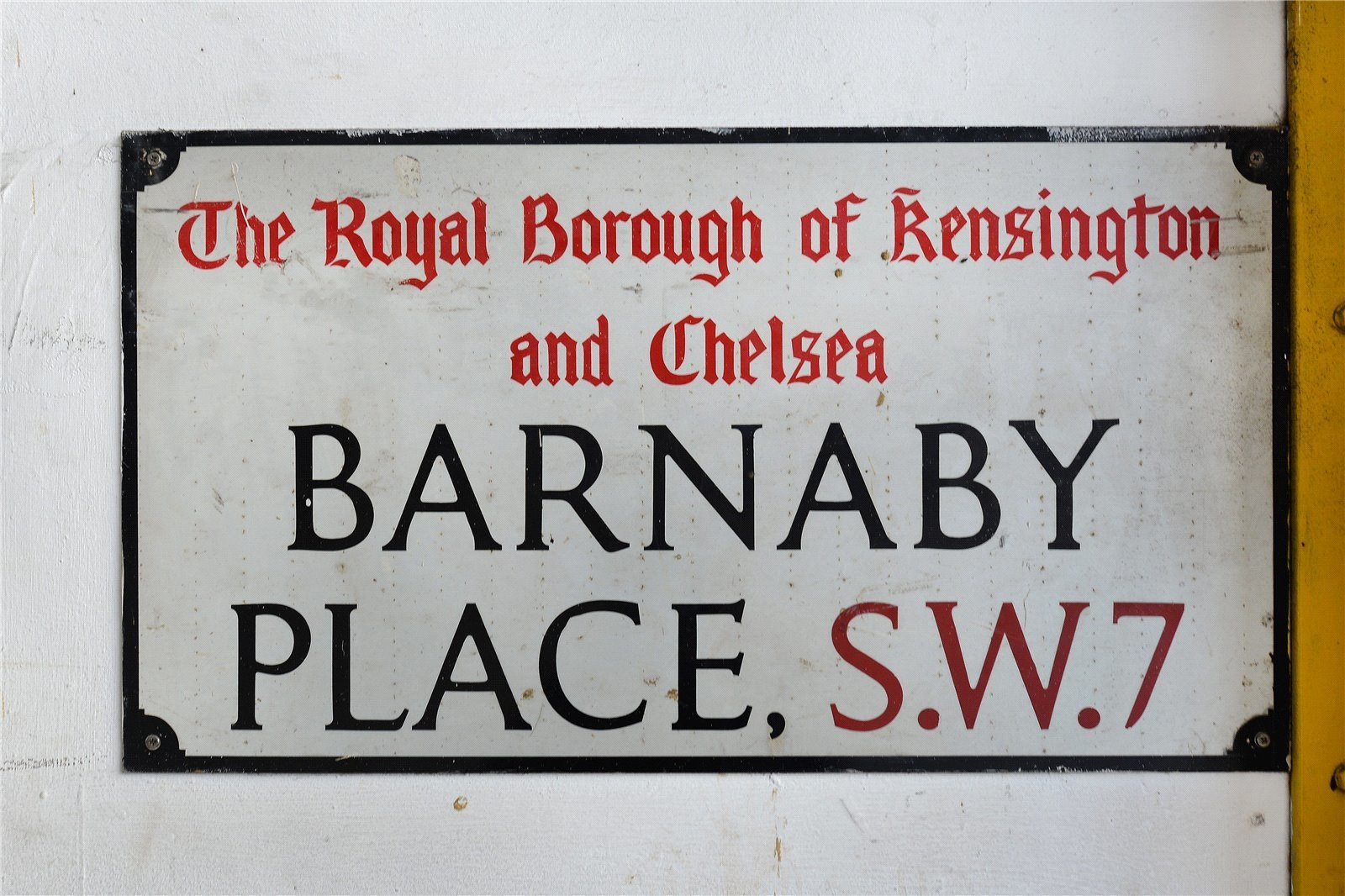 Barnaby Place, London, SW7