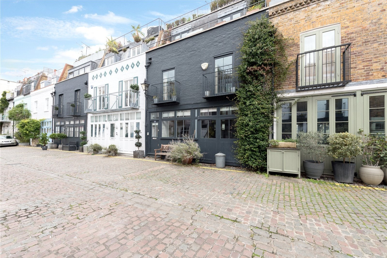 St. Lukes Mews, Notting Hill, London, W11