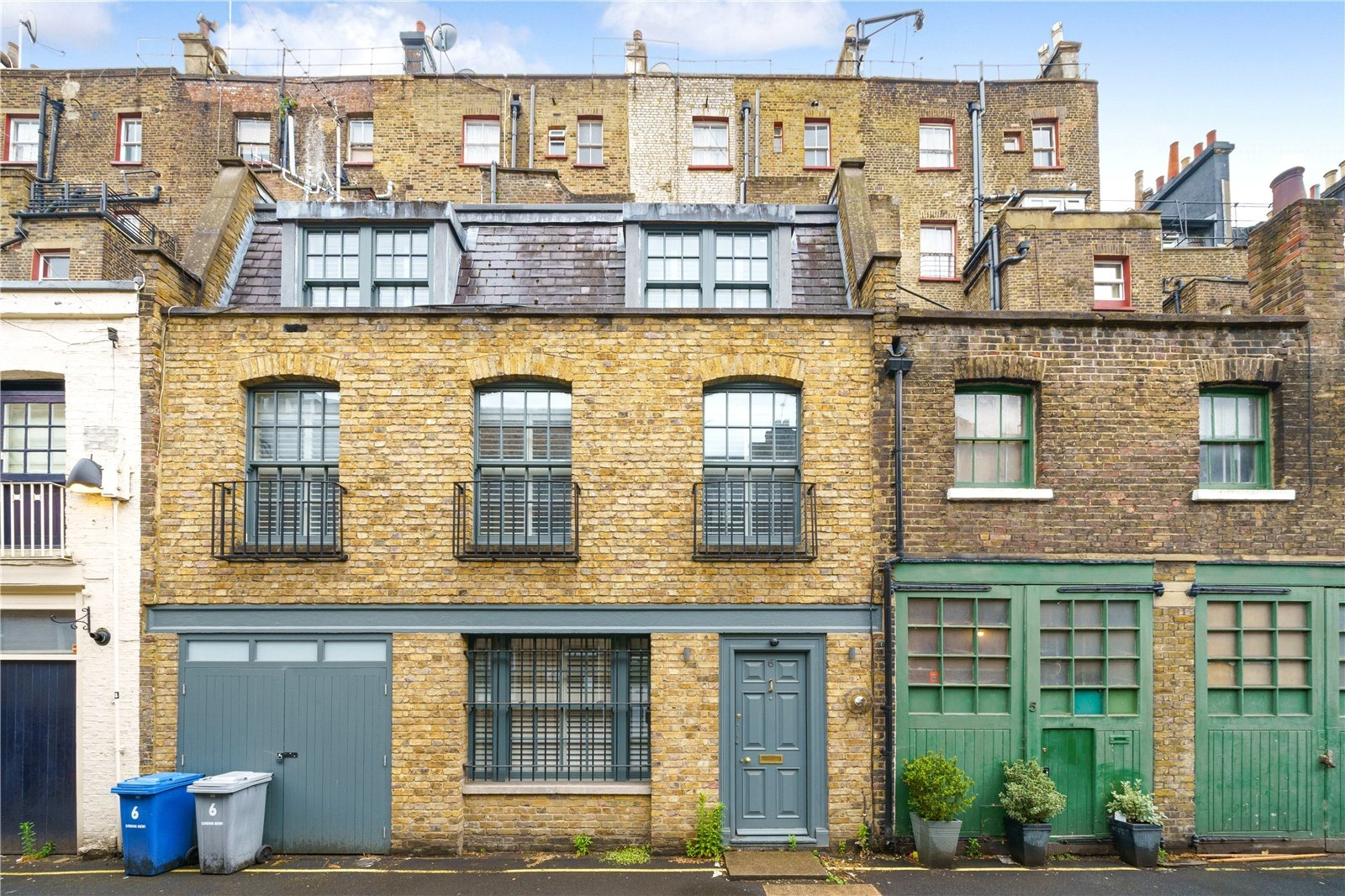 London Mews, Tyburnia, London, W2