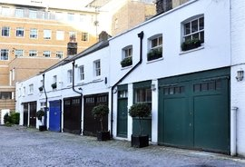 Bakers Mews, Marylebone, London, W1U