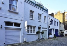 Clarkes Mews, Marylebone Village, London, W1G