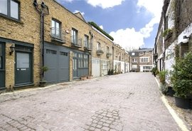 Connaught Close, Connaught Village, Bayswater, London, W2