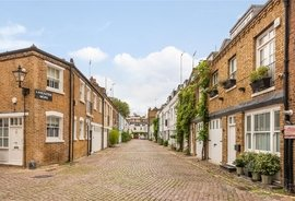 Mews House for sale in Lancaster Mews, London