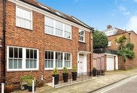Mews House for sale in Lombardy Place, London