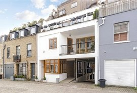 Mews House to rent in Leinster Mews, London